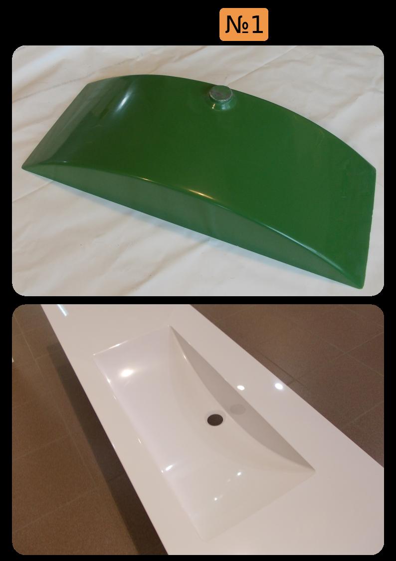 Мойка для ванной №1
